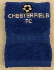 CHESTERFIELD PERSONALISED FACE CLOTH